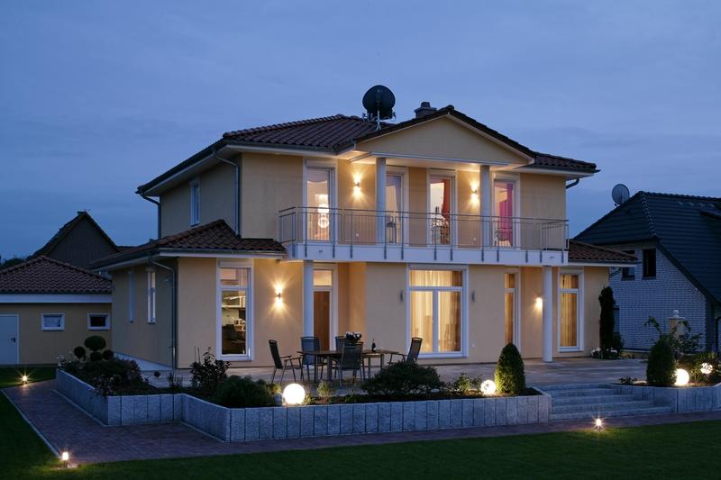 Fertighaus villa grundriss  Mediterane Villa 180 m²